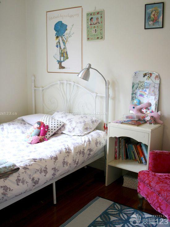 两室一厅家装90后女生卧室设计效果图