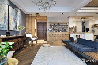 160平现代混搭装修沙发设计图