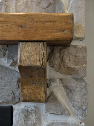 大户型混搭工业风装修实木装饰细节图