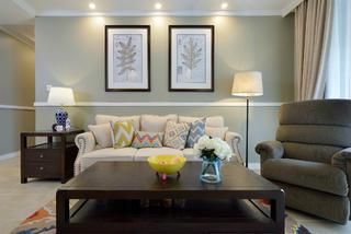 大户型简美装修沙发图片