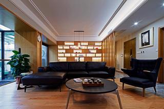 大户型简约复式装修沙发图片