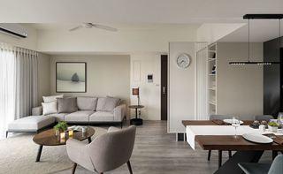 简洁设计北欧小户型一居室装饰欣赏图