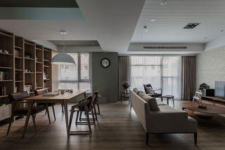 家装二居室实木简约现代装饰鉴赏图