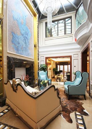 高贵华丽欧式宫廷风别墅设计装修大全