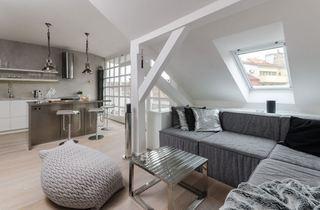 现代创意设计阁楼一居室家装图片