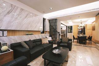 180平米小别墅室内隔断后现代装饰风格装修欣赏图