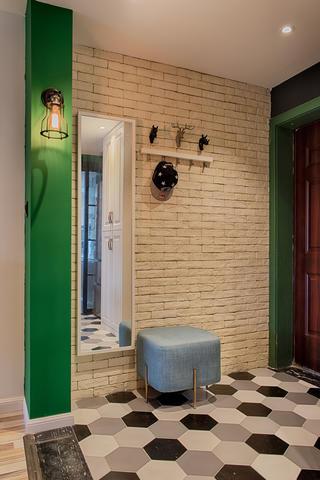 混搭二居装修门厅图片