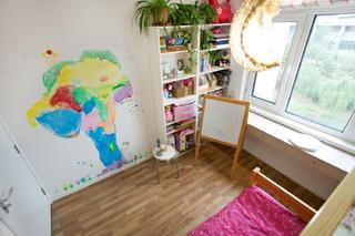 简约两居装修儿童房布置图