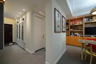 三居室简约风格装修门厅走道