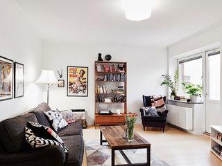 极简北欧小户型客厅装饰欣赏图