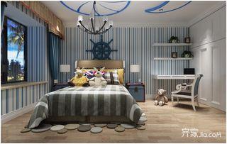 100㎡欧式风格两居儿童房装修效果图