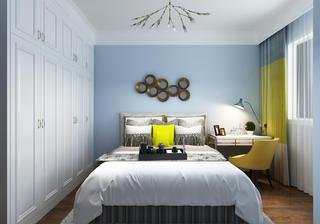 四居室美式风格装修儿童房效果图