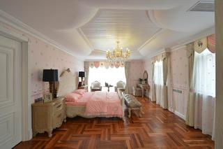 美式风格别墅装修女儿房设计图