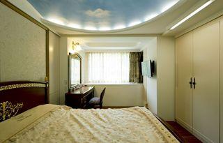 欧式家装风格卧室吊顶设计装修欣赏图