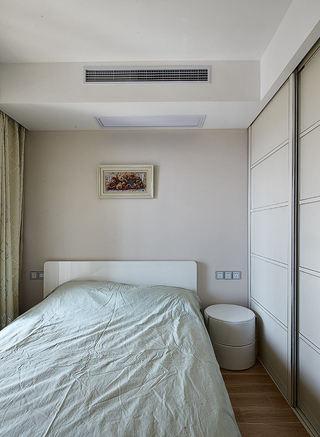 现代家庭三居室次卧装饰设计图