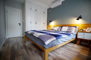 二居室北欧风格家卧室效果图
