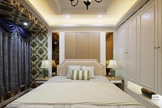 107平美式装修卧室设计图