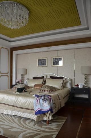 120平简约风格样板房装修卧室设计图