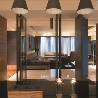 现代风三居客厅装修效果图