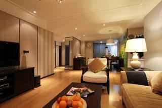 现代四居室装修客厅设计图