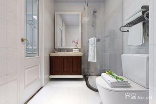 75平米二居室卫生间装修效果图