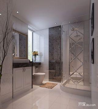 120平米二居室卫生间装修效果图