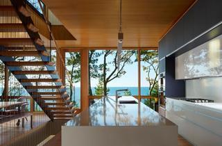 休闲美式海景别墅厨房设计