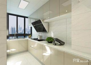 120平现代中式风格厨房装修效果图