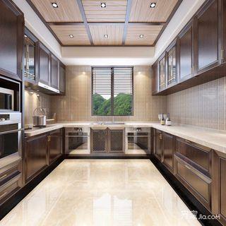 复式新中式两居厨房装修效果图