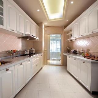 175平新古典装修厨房布置图