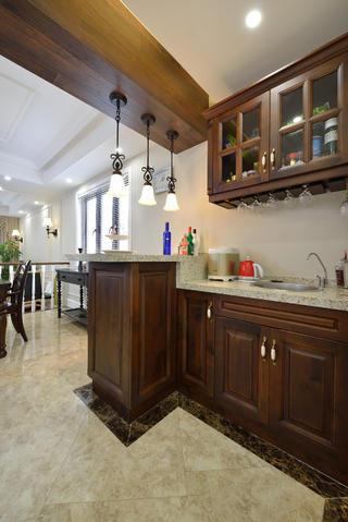 美式风格别墅设计厨房布局图