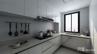 现代简约风格厨房装修效果图