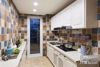 110㎡地中海风格厨房装修效果图