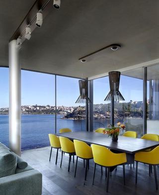 时尚现代海景餐厅效果图