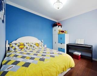 宝蓝色宜家北欧风儿童房设计大全