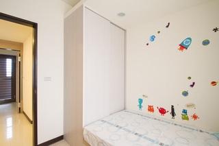 简约现代儿童房墙贴欣赏