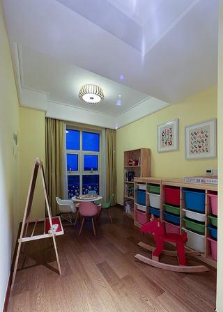 彩色美式设计儿童房装饰大全