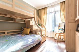 三居室北欧风之家儿童房设计图