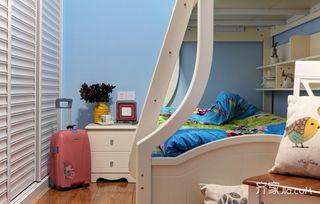 美式混搭二居儿童房装修效果图