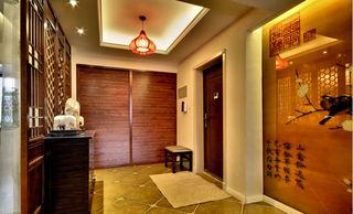 奢华精美暖系中式风格玄关装饰大全