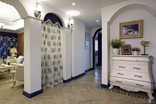 经典地中海风情 玄关拱门隔断设计