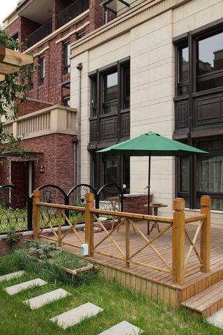 美式风格别墅设计休闲露台
