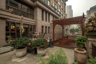 大户型新古典美式混搭装修庭院图片