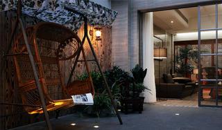 中式别墅装修庭院欣赏图