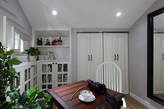 简美复式三居装修阁楼设计图