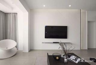 极简风格电视背景墙装修效果图