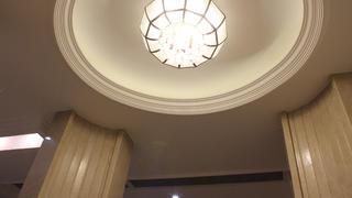 130平三居室装修吊顶设计