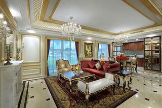 奢华精美新古典欧式别墅吊顶装饰设计
