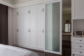 简约现代卧室移门隔断设计