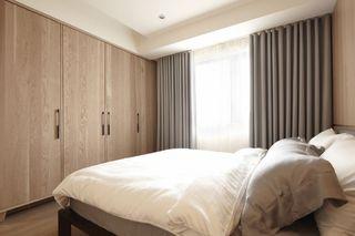 时尚简约风卧室窗帘设计